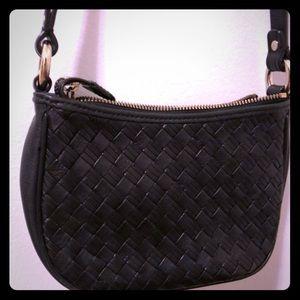 Cole Haan weave crossbody bag
